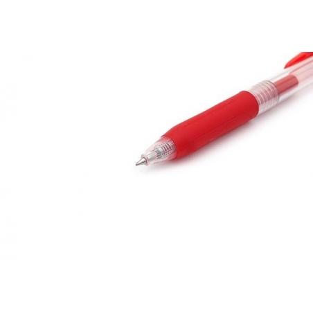 Roler gel Zebra Pen SARASA GEL CLIP 0,5 Red/Red Gel Ink TC BT 14313