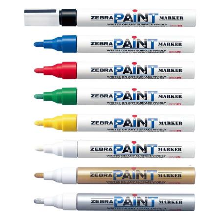 Paint marker Zebra Pen White/White 51025