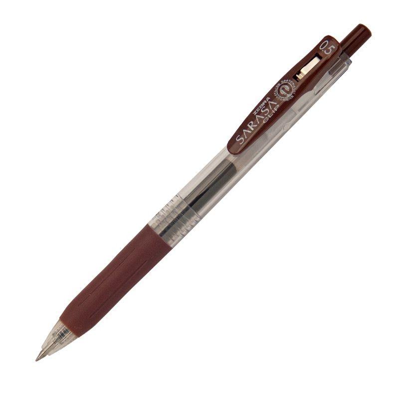 Roler gel Zebra Sarasa Gel Clip 0,5 Brown/Brown Gel Ink TC BT 35136/ 4901681351367