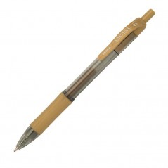 Roler gel Zebra Sarasa Gel Clip 1.0 Gold/Gold point size 0,7 Gel Ink TC BT 14338/ 4901681143382