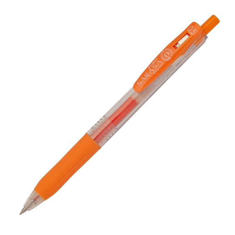 Roler gel Zebra Sarasa Gel Clip 0,5 Orange/Orange Gel Ink TC BT 14319/ 4901681143191