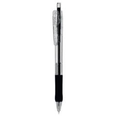 Olovka hemijska Zebra Tapli Clip 0,5 Black/Black 38331-10/ 4901681383313