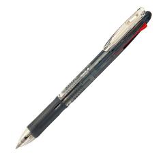 Olovka hemijska Zebra Clip On Slim 4C 0,7 Black (4 boje u jednom telu, crna+plava+zelena+crvena) 45971/ 4901681459711