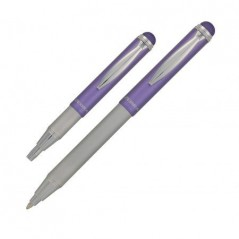 Olovka hemijska Zebra Telescopic Stylus Metallic 0,7 Purple 46618/ 5024475466180