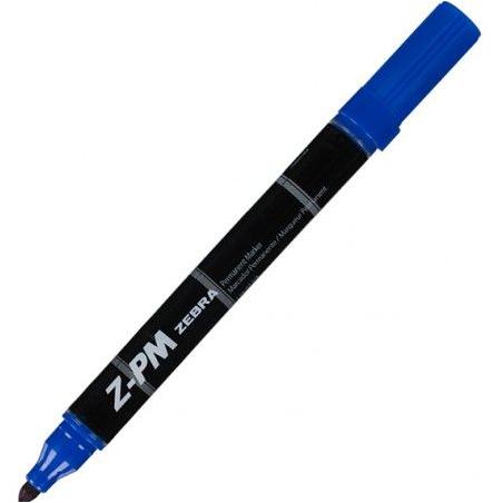 Marker permanentni Zebra Z-PM Blue 33322/ 4901681333226