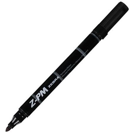 Marker permanentni Zebra Z-PM Black 31221/ 4901681312214