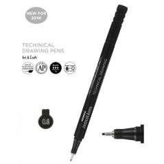 Flomaster za tehničko crtanje Zebra 0,8mm 30098 4901681300983