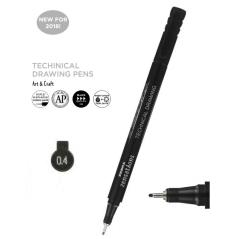 Flomaster za tehničko crtanje Zebra 0,4mm 30094 4901681300945
