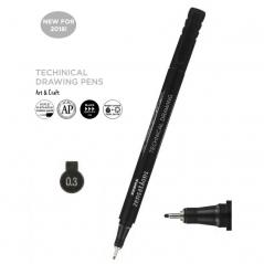 Flomaster za tehničko crtanje Zebra 0,3mm 30093 4901681300938