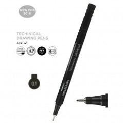Flomaster za tehničko crtanje Zebra 0,1mm 30091 4901681300914