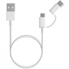 Xiaomi Mi 2-in-1 USB Cable Micro USB to Type C (30cm)