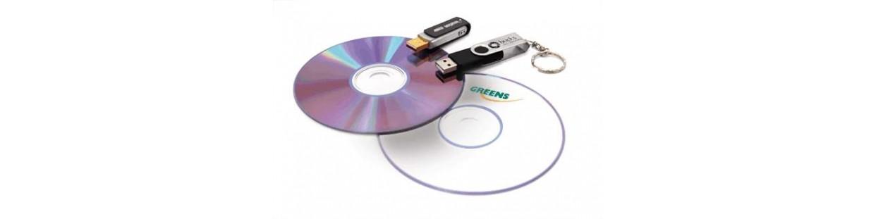 Cd, DVD, Medija
