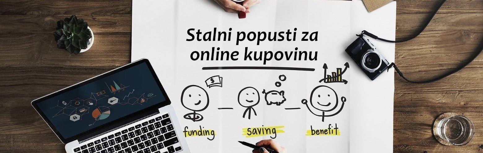 Stalni popusti za online kupovinu